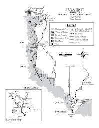 Big Bend Map Jena Unit Big Bend Wma Maplets