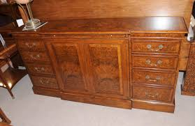 edwardian walnut sideboard buffet server dining furniture ebay
