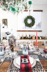 Christmas Table Decor by Cabin Inspired Christmas Tablescape Mountainmodernlife Com