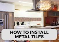 Mosaic Tile Installation Stainless Steel Backsplash A Metal Mosaic Wall Tile Shop