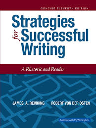 strategies for successful writing 11th edition 2017 james