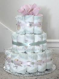 charming baby shower cakes made from diapers 54 with additional
