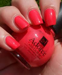 adoree swatches for summer esther u0027s nail corner
