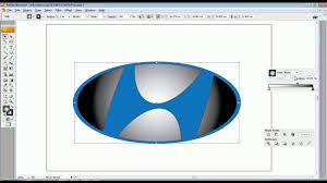logo hyundai how to make hyundai logo with adobe illustrator tutorial create