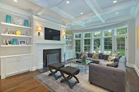 Family Room Wall Decor Ideas Bedroom Contemporary With Pendant - Family room built ins