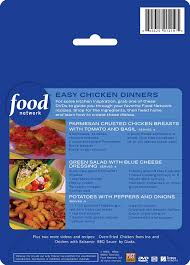 Food Network The Kitchen Recipe Amazon Com Food Network Meals On Dvd Shop Watch Cook Easy