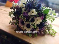 wedding flowers liverpool purple and lilac freesia eucalyptus and mint give this mixed