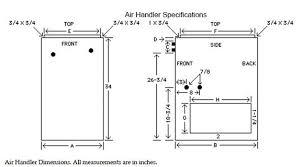 air handler dimensions hvac unit cost rprl025jec rhplhm2421jc