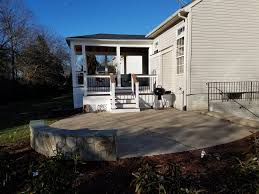 Stone Decks And Patios by Porches Porticos Pavilions U0026 Gazebos American Exteriors U0026 Masonry