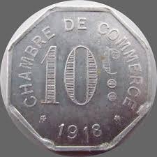 chambre de commerce rouen monnaies monnaies de nécéssité rouen 10 centimes thierry dumez