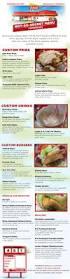 california berry fro yos restaurant menu guide pinterest