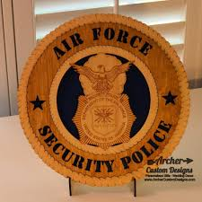 force security police badge plaque