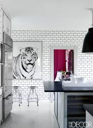 kitchen style white ceramic backsplash ideas with white cabinets