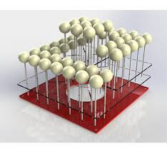 cake pop stands large acrylic cake pop stand holds 36 48 cake pops