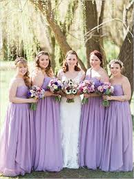 Lilac Dresses For Weddings Lilac Bridesmaid Dresses Chiffon Bridesmaid Dress Long