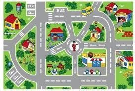 city map children u0027s area rug 29 99 free shipping