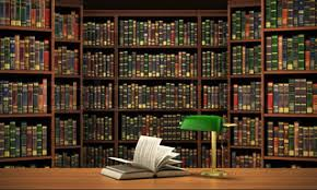 Background Bookshelf Bookshelf Full Of Books Background Old Library Stock Photo