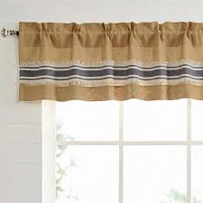 vhc brands mill creek lined valance curtain 72