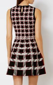 houndstooth dress graphic houndstooth dress millen