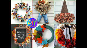 fall wreath ideas 35 amazing diy fall wreath ideas diy fall door decorations 2017