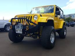 jeep wrangler hawaii yellow jeep wrangler in hawaii for sale used cars on buysellsearch