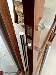 Contemporary Entry Doors Entry Door Locks System Wood Furniture