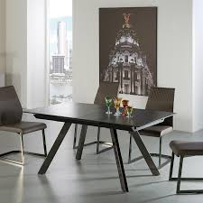 dining tables modern extension dining table extendable dining