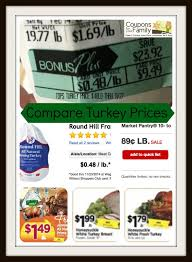 compare local turkey prices for thanksgiving dinner 2014 tops to