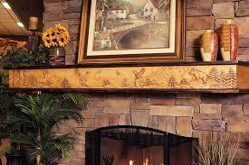image of custom fireplace mantels