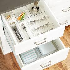 Shallow Desk Linus Shallow Drawer Organizers The Container Store