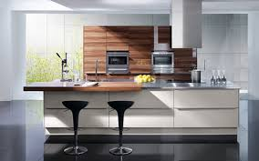 kitchen design breakfast bar appliances beautiful black barstool with wooden breakfast bar