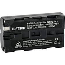amazon camcorder black friday amazon com watson np f975 lithium ion battery pack 7 4v