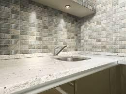 decorating white bullnose tile backsplash with black kitchen