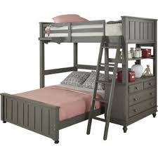 Full Bunks Beds  Kids Beds Youll Love - Full loft bunk beds