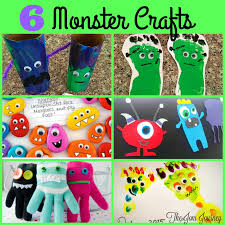 monsters halloween the joni journey 6 monster halloween crafts