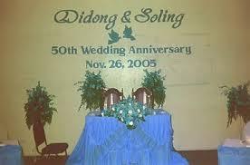 wedding anniversary backdrop didong silong 50th wedding anniversary backdrops carvings