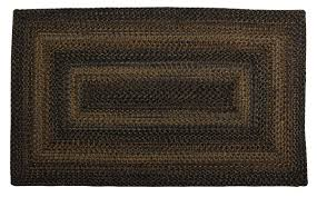 Home Spice Decor Homespice Decor Ultra Durable Black Forest Braided Rugs