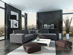 home interior stock photos royalty free home interior images and home interior gray colored modern design living room interior stock photo