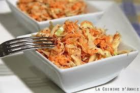 cuisiner le chou blanc recette salade de chou blanc et de carottes coleslaw la cuisine