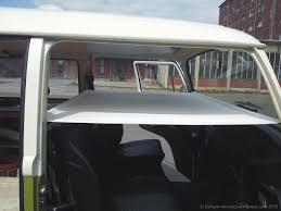 volkswagen old van interior interior campervan crazy