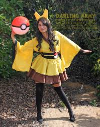 digger halloween costume pikachu cosplay kimono dress wa skirt accessory darling army