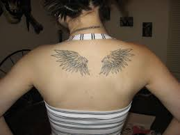the 25 best small angel wing tattoos ideas on pinterest wing