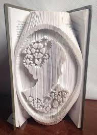 110 best book folding images on pinterest folded book art book