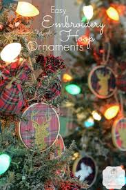 5 minute embroidery hoop ornaments all things and home