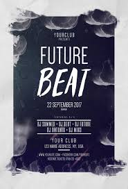 stockpsd net free psd flyers brochures and more future beat