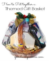 last minute gift baskets same themed gift basket ideas great for a last minute gift