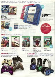 nintendo 2ds target black friday target 11 16 11 22 video game ad with b1g1 25 off gaming cards