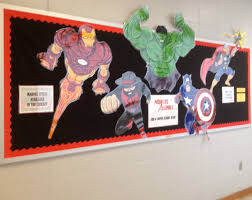 superhero home decor interior design creative classroom decorating themes elementary