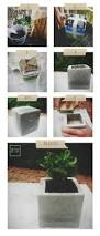 Square Concrete Planter by Charming And Innovative 14 Diy Concrete Planters