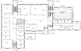 Hamilton Ontario Map Mcmaster University Hamilton Hall Second Floor Map